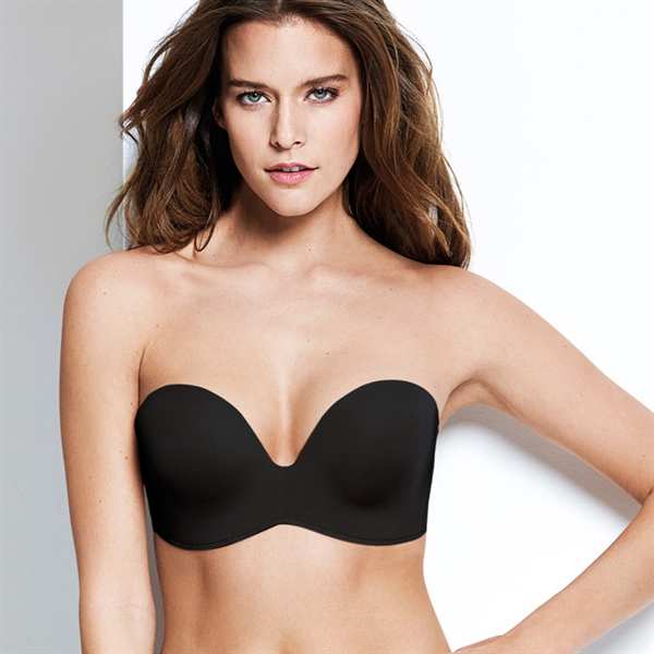 WONDERBRA - BH ULTIMATE STRAPLESS SVART