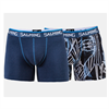 SALMING - BAMBOO BOXERS ORION PETROL 2-PACK